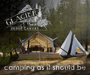 Glacier Under Canvas - Luxury Camping : Glamping.