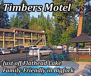 Timbers Motel - low cost, great value. - Spacious king, double and single rooms, sauna, pool, hot tub, continental breakfast and beautifully-landscaped grounds are just a few of our standout features. Just blocks to Bigfork Marina, downtown shops and multiple restaurants.