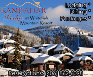 Kandahar Lodge - the class of Big Mountain : Slopeside luxury rooms & suites (some w/kitchens) and well-priced lodging/dining packages available. Excellent bar, dining room & outdoor hot tub plus WiFi & soaking tubs.