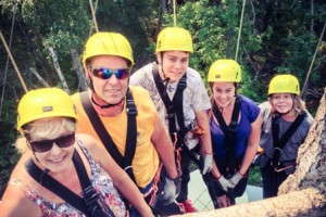 Glacier Ziplines - overlooking Flathead River :: We are a fun and interactive zipline canopy tour featuring 9 zip-lines including a sky bridge-and-line that stretches from our 80-foot tower to a platform 720 feet away.