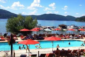 Lodge at Whitefish Lake - lakefront resort