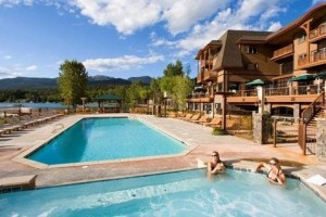 Lodge at Whitefish Lake - on the Lake