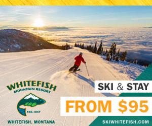 Whitefish Mountain Resort   Ski & Stay for $95