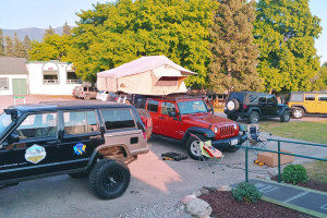 Glacier Jeep Rentals & Camping Setup packages