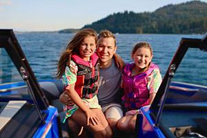 Whitefish Marine   Kids love watersports