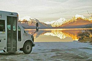 Glacier Adventure Guides - winter van tours