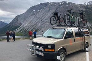 Whitefish Bike Retreat - shuttle to GTS road