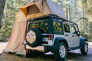 Glacier Jeep Rental and Campers Rooftop Package