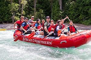 Great Northern Resort - lodging, rafting & more
