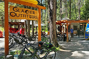 Glacier Outfitters - rentals for outdoor gear