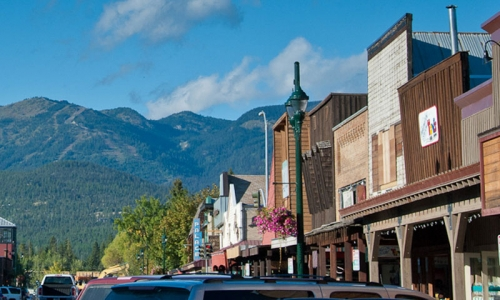 Whitefish Tourism Downtown