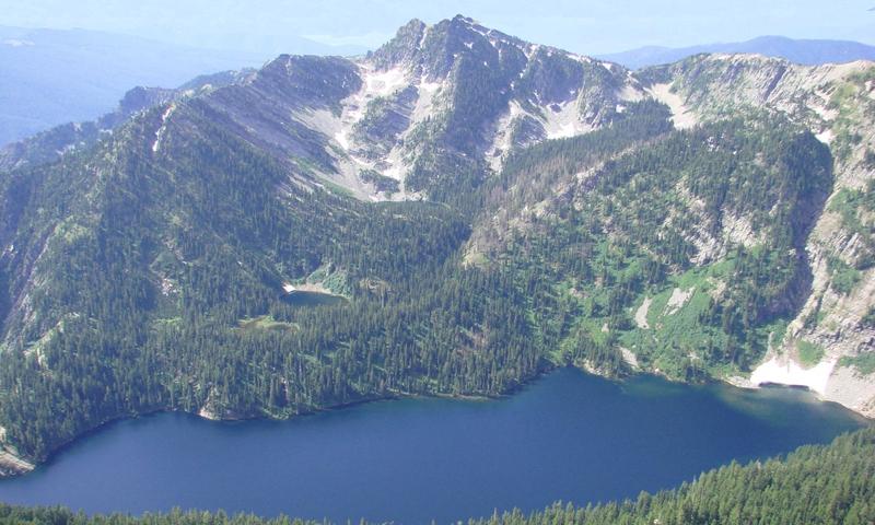 Wanless Lake in the Cabinet Mountains near Kootenai Valley
