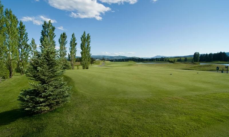 Golf Course at Lodge at Whitefish Lake