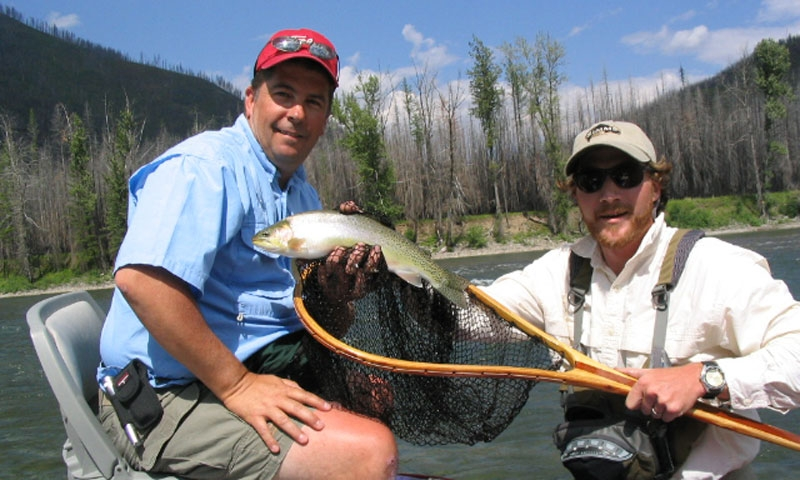 Fly Fishing Flathead River Montana Glacier National Park