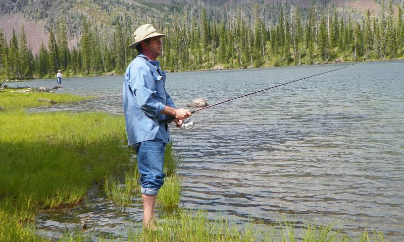 Fly Fishing in the Bob Marshall Wilderness
