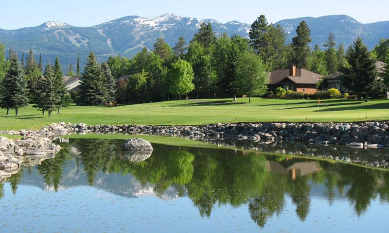 Golf Course at Lodge at Whitefish Lake