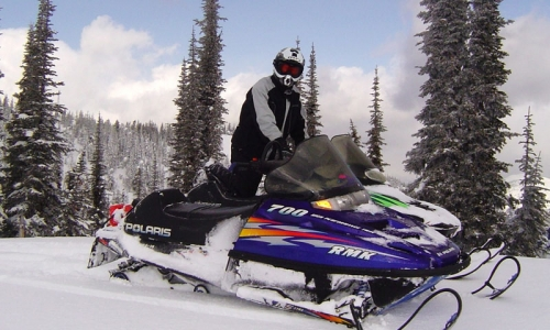 Whitefish Montana Ski Vacations Snowmobiling