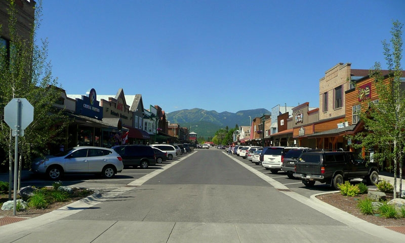 Downtown Whitefish Montana Historic District Alltrips