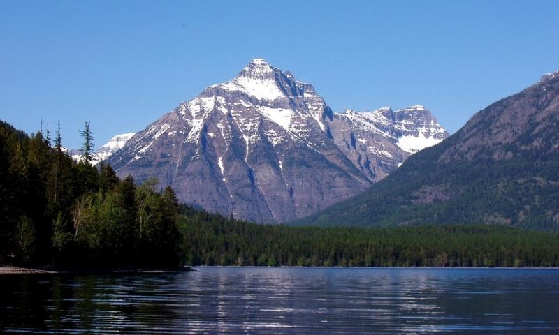 Glacier National Park Montana Lake Mcdonald