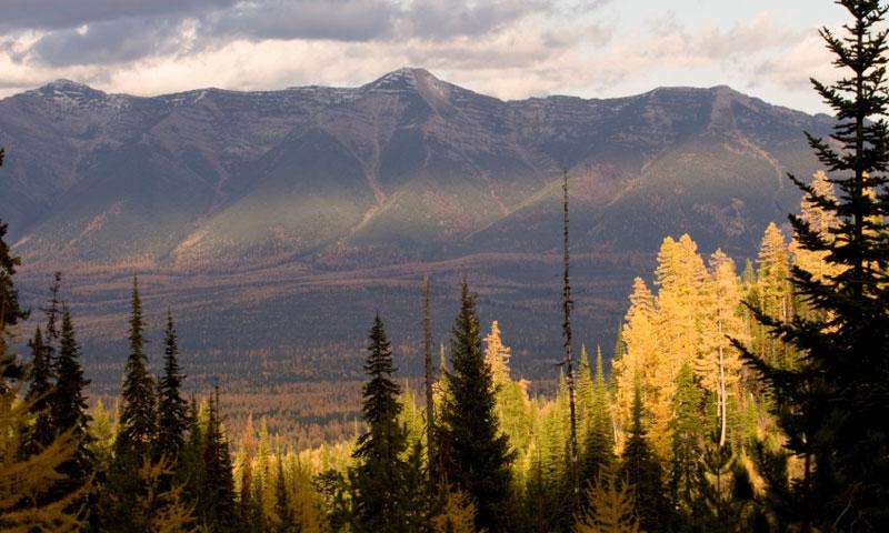 Swan Mountains Range In Montana Alltrips