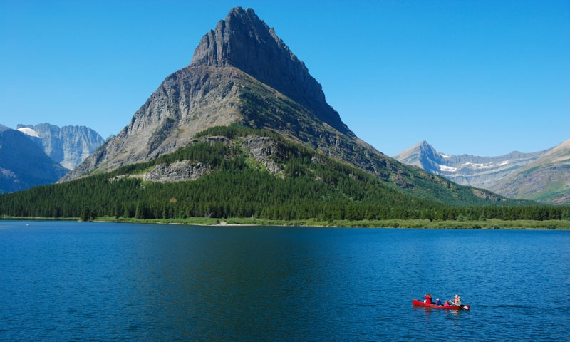 Glacier National Park Swiftcurrent Lake