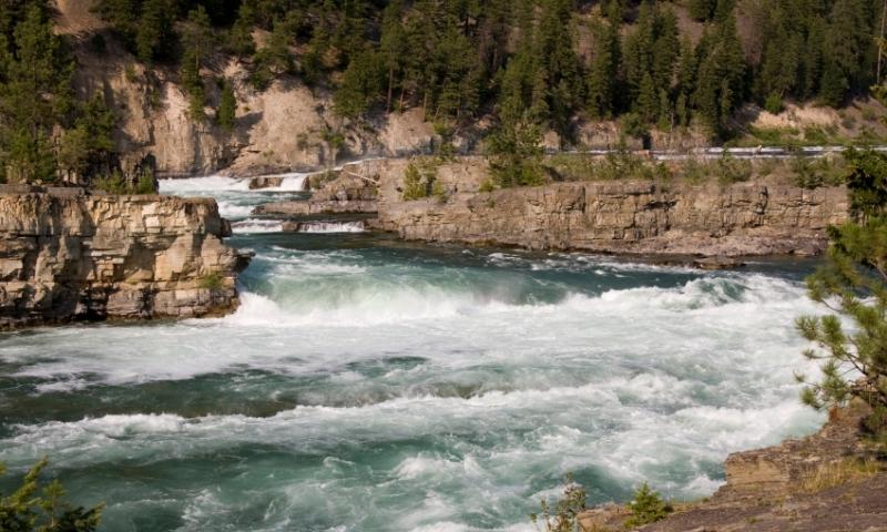 Kootenai River Falls Montana
