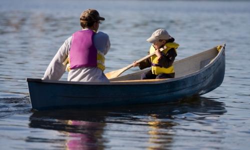 Flathead Lake Canoeing