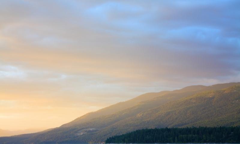 Whitefish Lake Flathead Valley Montana