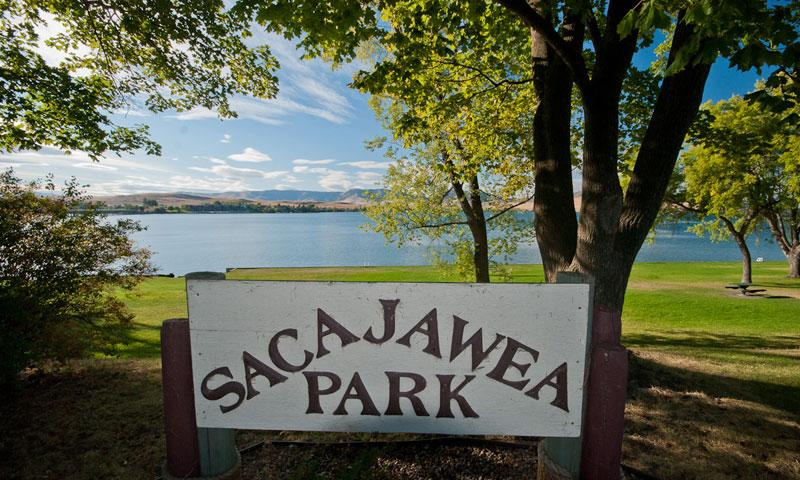 Sacajawea Park in Polson Montana